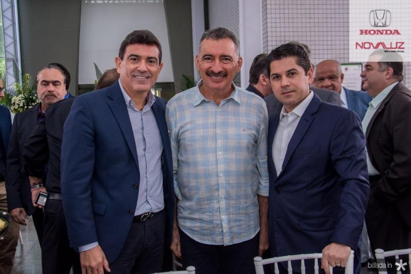 Alexandre Pereira, Artur Bruno e Pompeu Vasconcelos