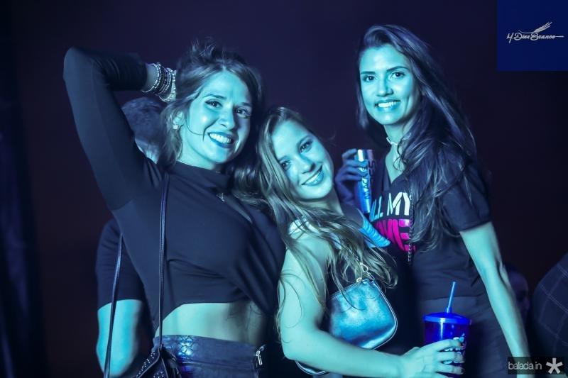 Renata Brasil, Vanessa Melo e Lorena Magalhaes