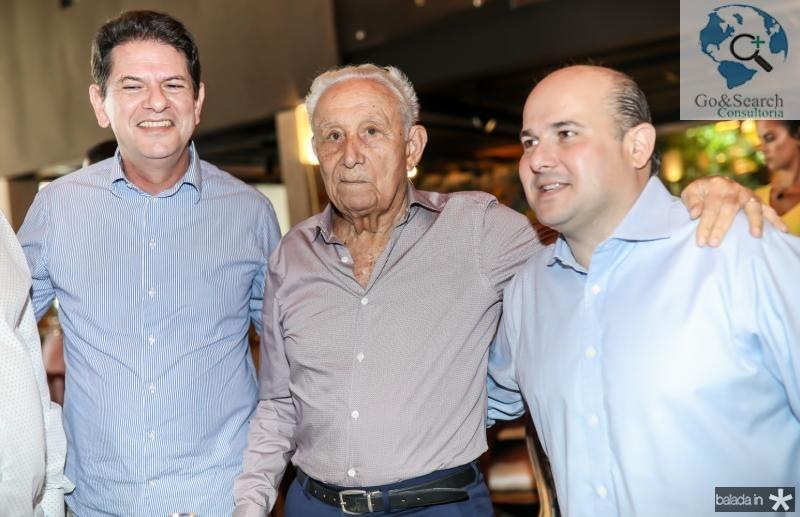 Cid Gomes, Humberto Bezerra e Roberto Claudio