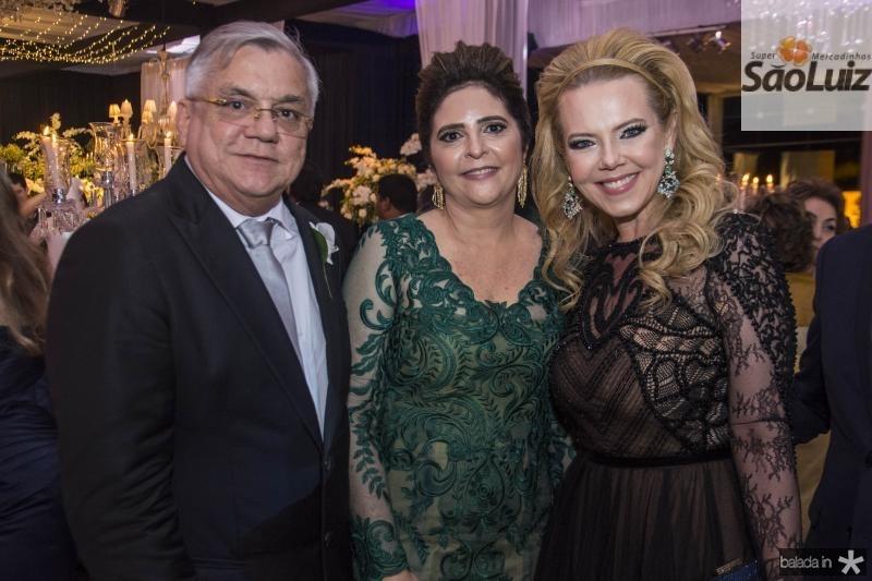 Urubatan Romero, Ines Gladstone e Branca Mourao