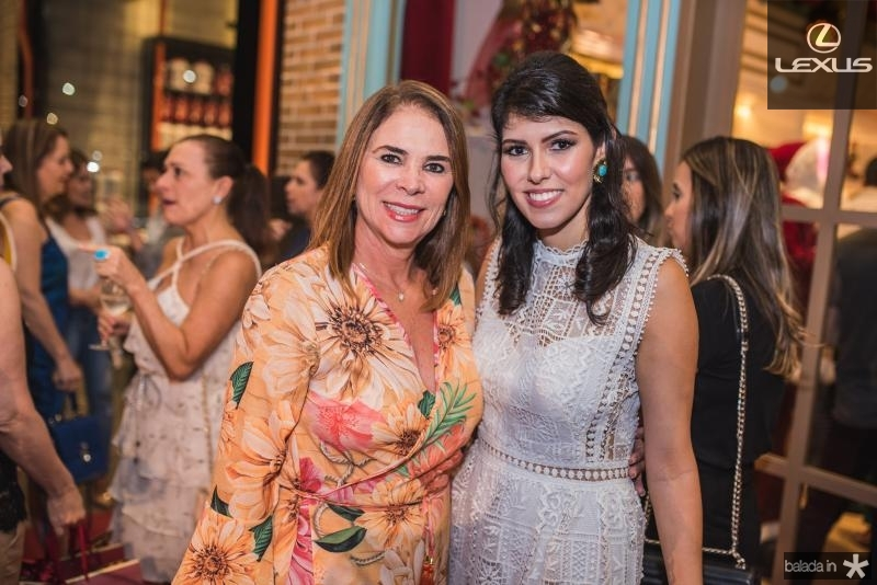 Jane Juacaba e Flavia Laprovitera