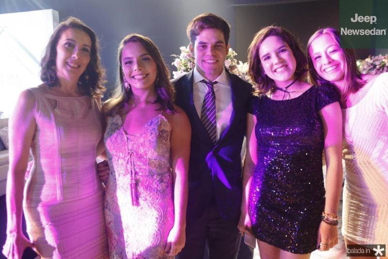 Lina Arraiz, Dolores Andrade, Felipe Veras, Julia Pearce e Nilda Andrade