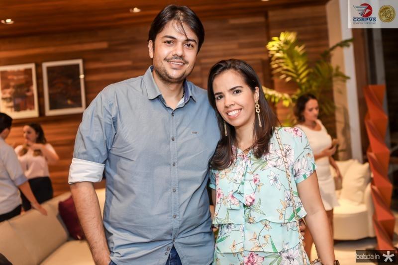 Mario Braga e Tatiana Soares