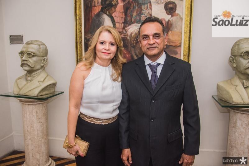 Ana Cristina Catunda e Pablo Carvalho