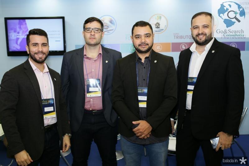 Felipe Timbo,Raimundo Neto, Teddy Gomes e Joel Peixoto
