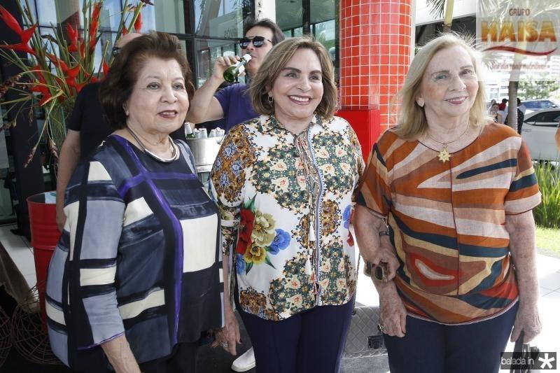 Edyr e Marise Rolim e Maruzia Carvalho