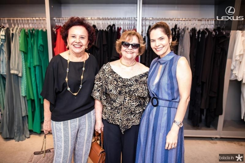 Aracir Justa, Neice Andrade e Cristiana Carneiro