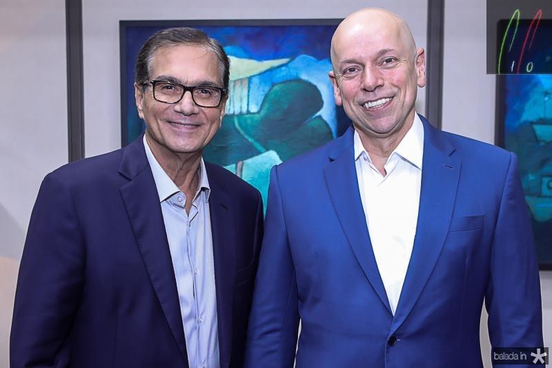 Beto Studart e Leandro Karnal