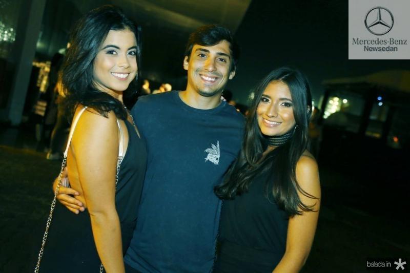 Marina Souza, Marcelo Carvalho e Sarah Alencar 2