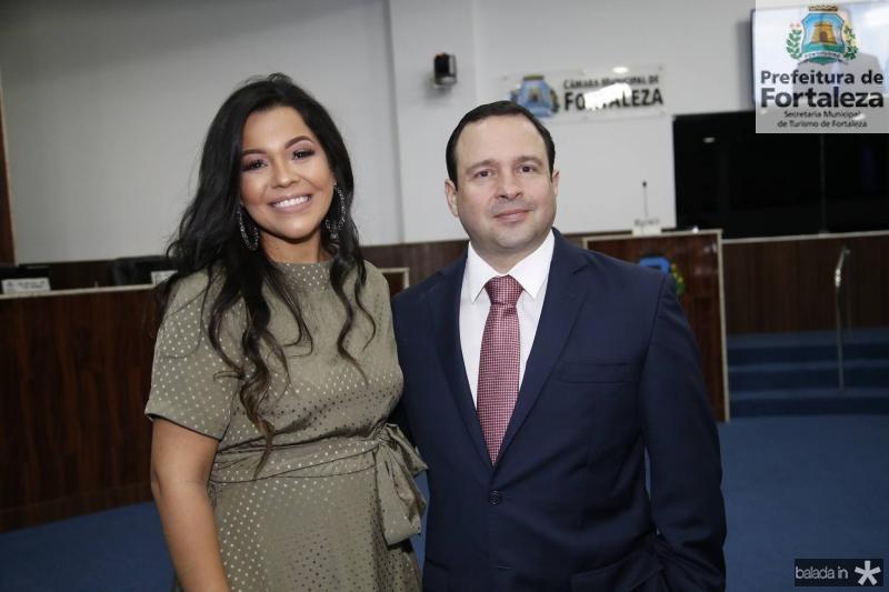Priscila Costa e Igor Barroso