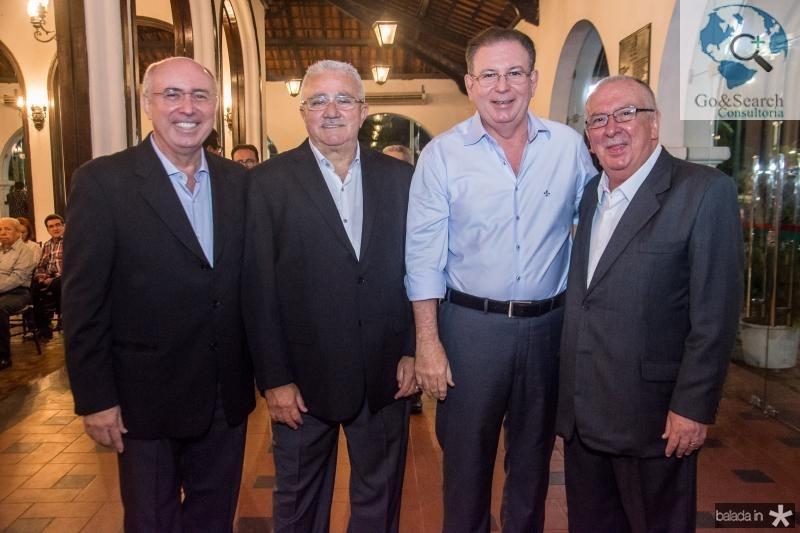 Amarilio Cavalcante, Alcimor Rocha, Ricardo Cavalcante e Valmir Pontes