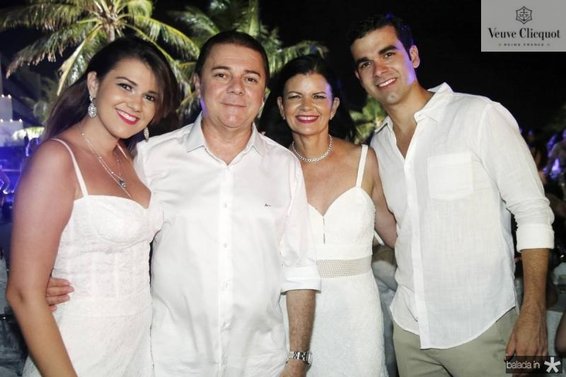 Mariana, Eliseu, Flavia e Flavio Barros