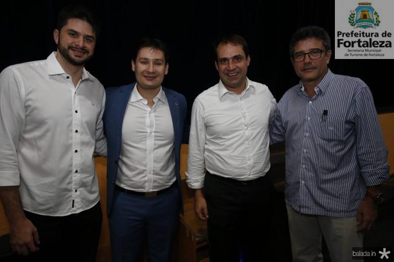 Guilherme Landim, Marcos Spbreira, Salmito Filho e Barros Neto