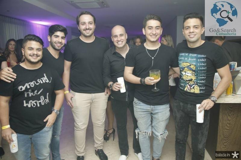 Ramon Marques, Deib Neto, Adams Gomes, Carlos Henrique, Kairo Chaves e Joao Victor