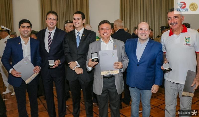 Queiroz Filho, Camilo Santana, Domingos Neto, Jose Porto,  Roberto Claudio e Arthur Bruno