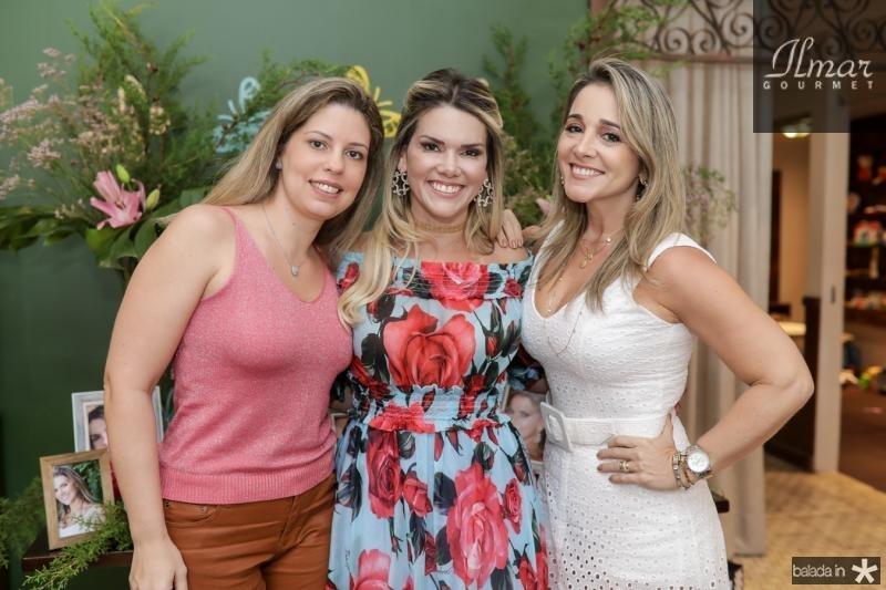 Patricia Cruz, Pauliane Campos e Sofia Cruz
