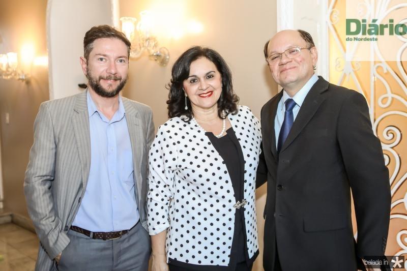 Alisson Oliveira, Solange Benevides e Odennis Uchoa