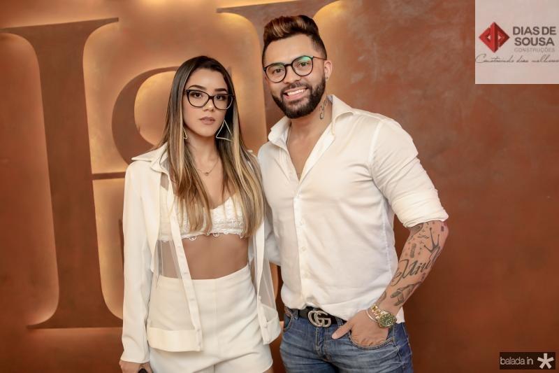 Juliana Rodrigues e Ianky Mendes