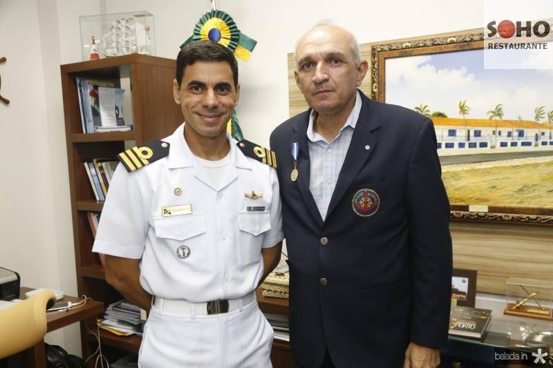 Alexandre Silva e Licinio Correa
