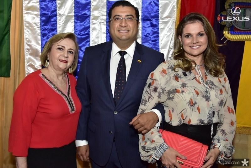 Nazarita Queiroz, Sergio Baias e Erivalda Rufino