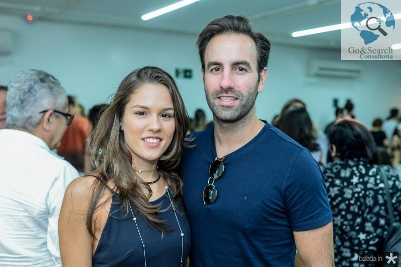 Daniela Eloy e Victor Frota