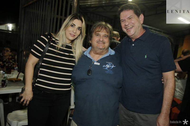 Maria Celia Ferreira Gomes, Vaval e Cid Gomes