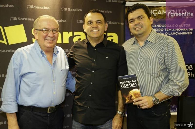 Valmir Pontes, Edmac Trigueiro e Marcelo Pio