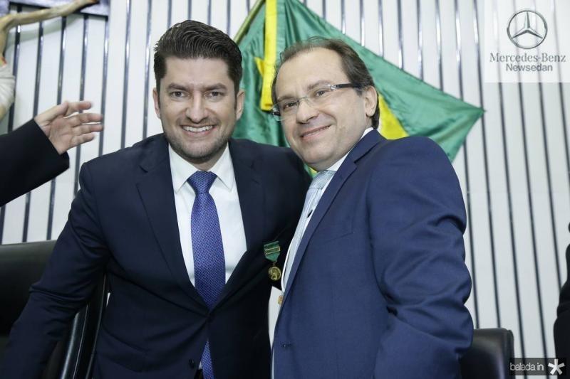 Paulo Jose Benevides e Carlos Matos