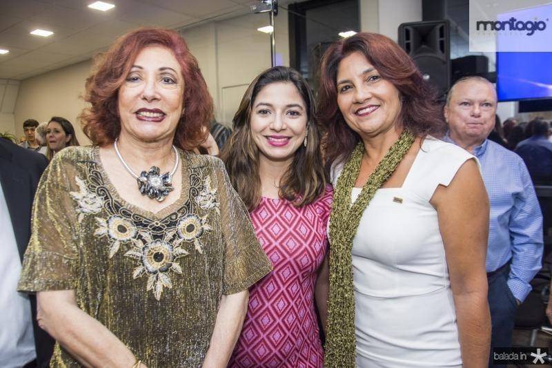 Vania Dumman, Jamila Araujo e Rita Areas