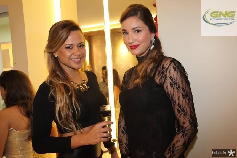 Cibelle Vieira e Khrisley Karlen