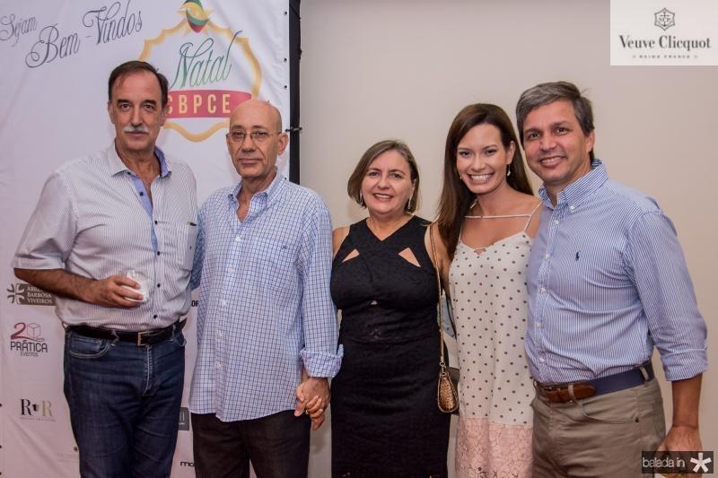 Armando Abreu, Jorge Coelho, Huga Coelho, Renata Soares e Romulo Alexandre