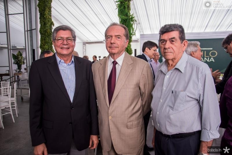Roberto Siqueira, Hermano Franklin e Orlando Siqueira