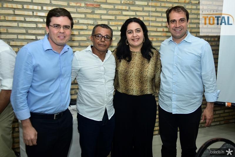 Tharsio Faco, Lusiario Batalha, Indira Guimaraes, Salmito Filho