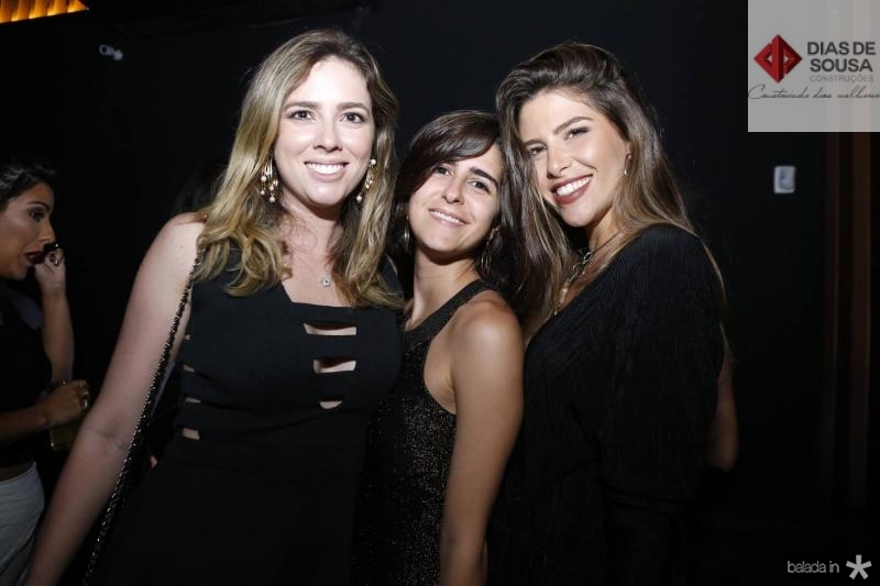 Renata Porto, Mariana Zonai e Natalia Benevides