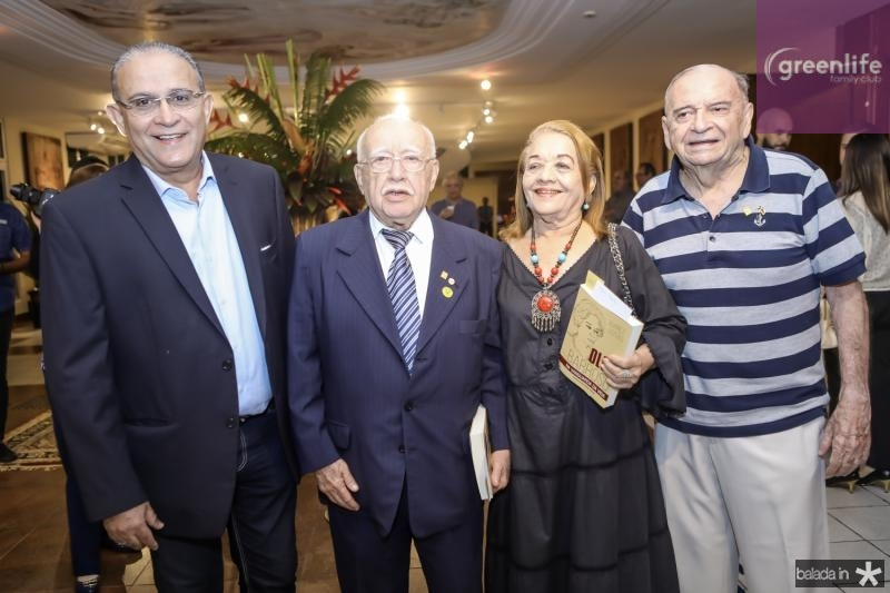 Alan Dias, Ubiratan Aguiar, Perpetua Pinto e Edinilo Soares