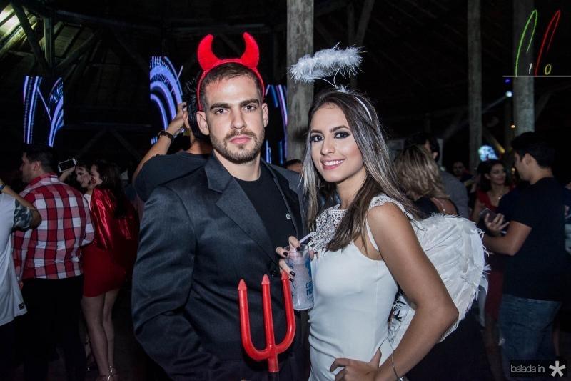 Lucas Batista e Flavia Freire