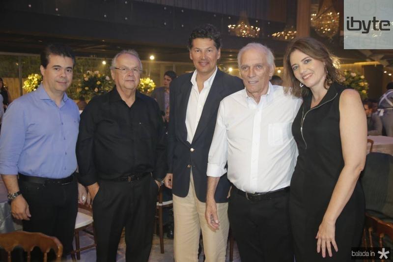 Duda Brigido, Helio Garcis, Denis de Souza, Jaime Machado Filho e Isabella Martin