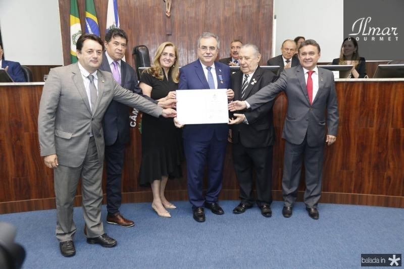 Benigno Junior, Carlos Mesquita, Edna e Assis Cavalcante, Idalmir Feitosa e Jose Porto