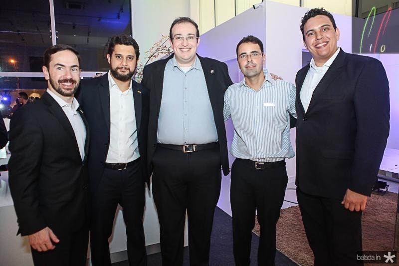 Tarcisio Trivino, Marcelo Godoi, Joao Oliveira, Silvio Uchoa e Andre Pina