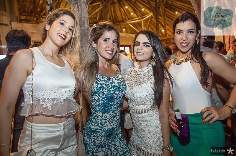 Vanessa Pessoa, Renata Brasil, Eduarda Camaraço e Alessandra Marques