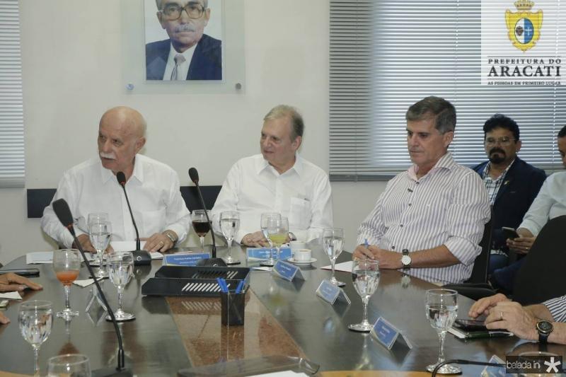 Freitas Cordeiro, Tasso Jereissati e Guilherme Theophilo 6