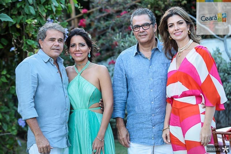 Ivan Bezerra, Ana Carolina Fonten, Vicente e Ines Castro