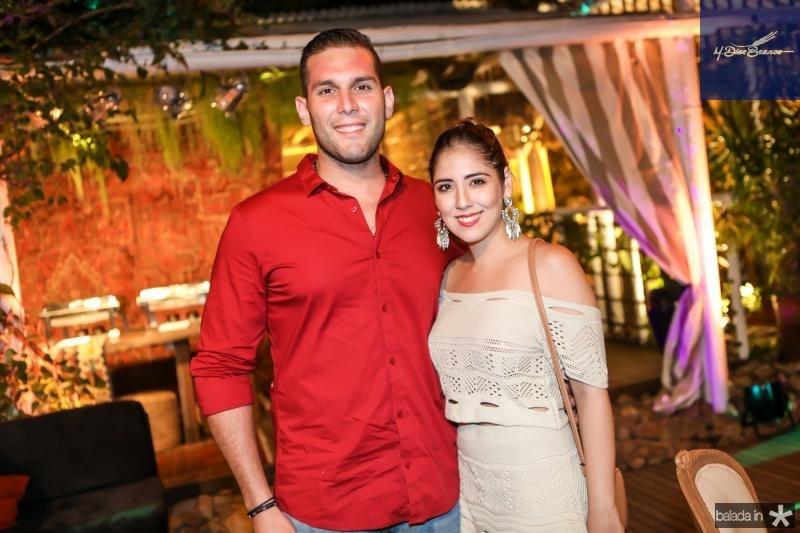 Luis Barros e Juliana Teixeira