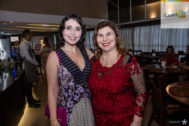Natalia Pacculli e Vania Pinheiro