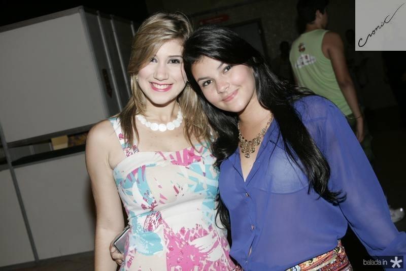 Michelle Athayde e Manu Uchoa