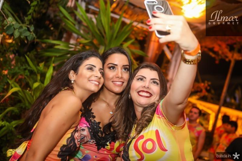 Iana Sampaio, Jessica Uchoa e Paula Martins