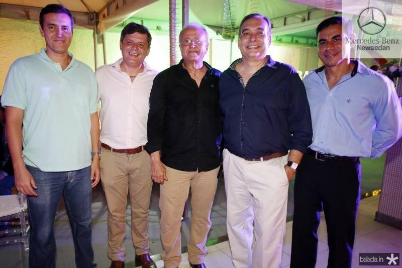 Rodrigo Santos, Miguel Leal, Antonio Cerqueira, Madson Cardoso e Alexandre Silva