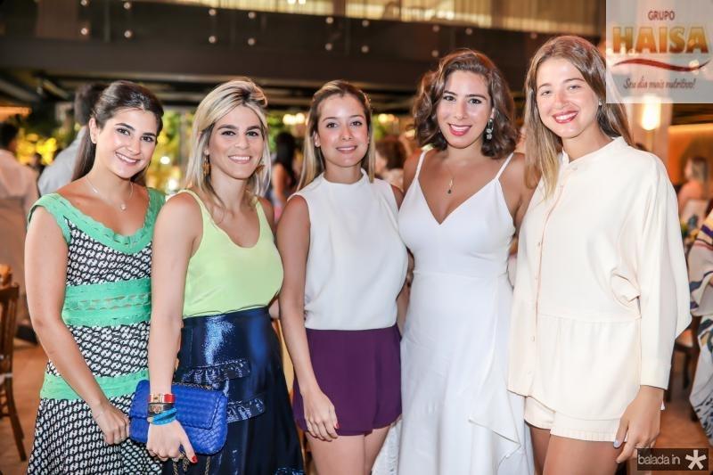 Isabella Vazoni, Amanda Tavora, Lara e Beatriz Bezerra, Marcela Minelli
