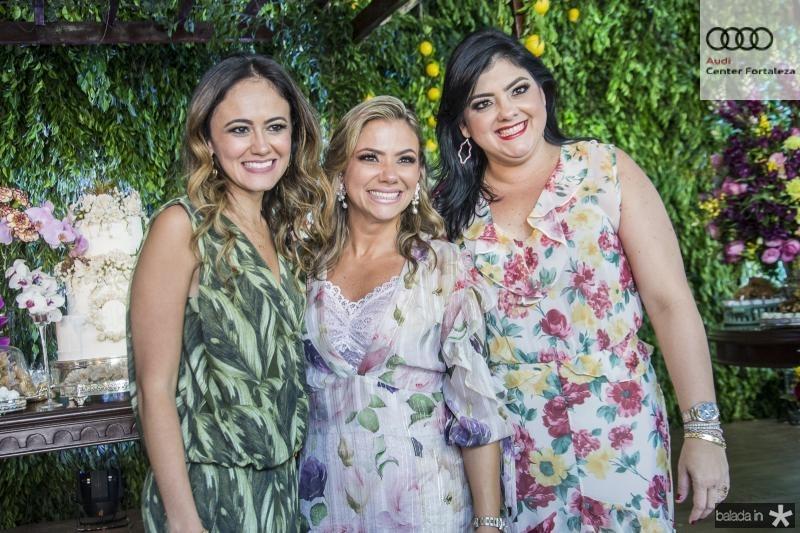 Bia Bezerra, Vanessa Queiros e Viviane Almada