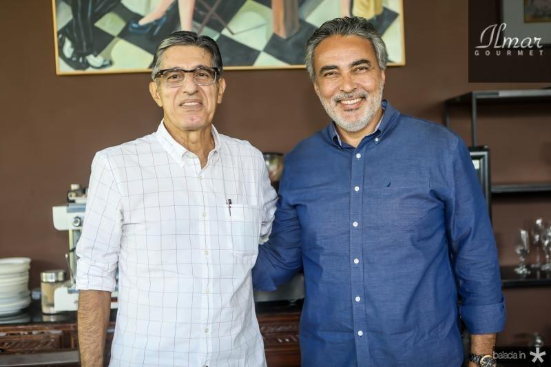 Francisco Hissa e Paulo Angelin